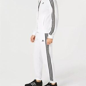 Mens Adidas Essential Tricot 3 Stripe Tapered Pants DW9284